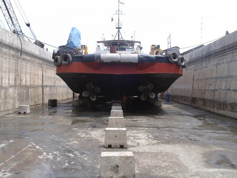 Floating Dock 5 Surabaya, FD Terbesar di PT Dok