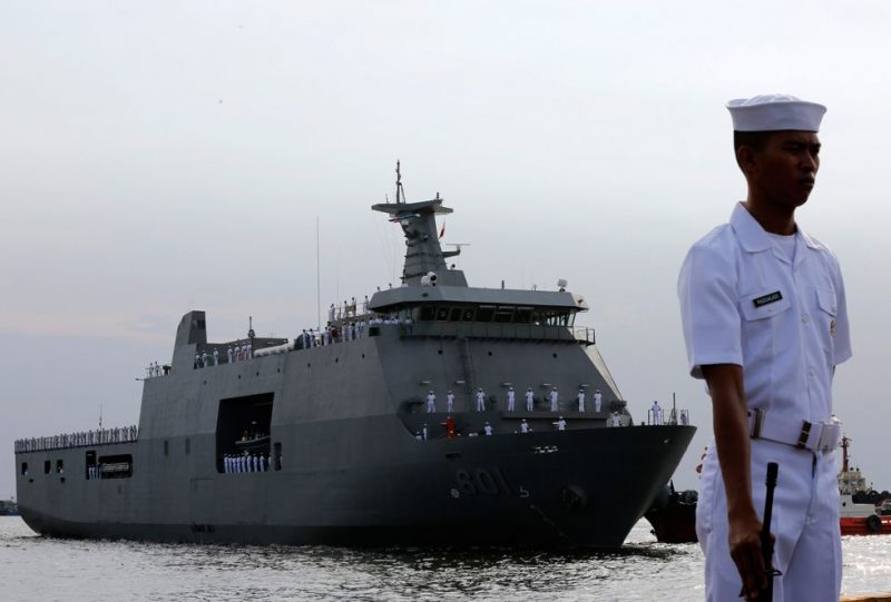 Angkatan Laut Indonesia Tangkap Kapal Vier Harmoni