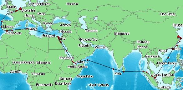 Mega Boxship Berdampak Pada Perdagangan Asia-Eropa