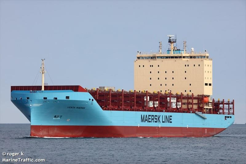 Venta Maersk Buat Sejarah Baru Melintasi Rute Laut Utara